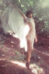 tulle & organza dress // anne valerie hash | shoes // anne valerie hash